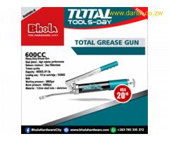Total grease gun