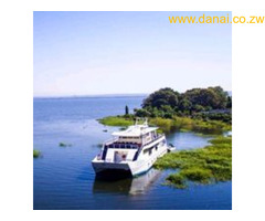 A houseboat to sleep in whilst touring Binga