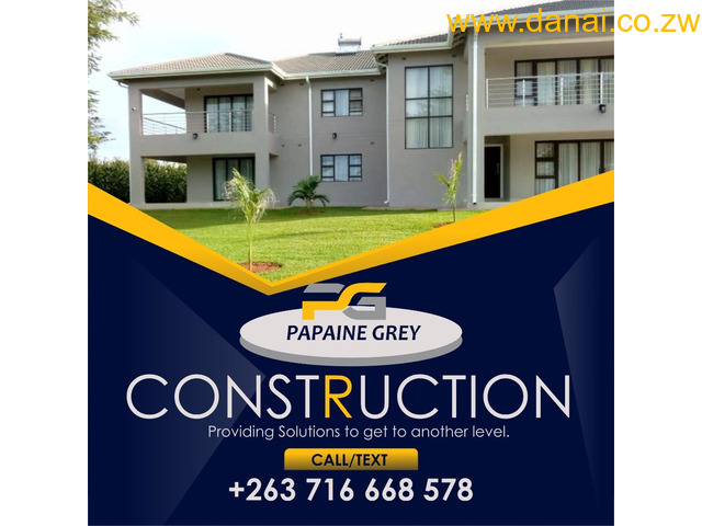 Construction, Renovations,Mining,Industrial, Agricultural infrastructure development